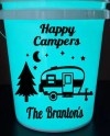 Happy Campers Light Up Camping Bucket Glow In The Dark Etsy