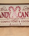 Candy Cane Personalized Farmhouse Style Sign 24x11 5 Etsy