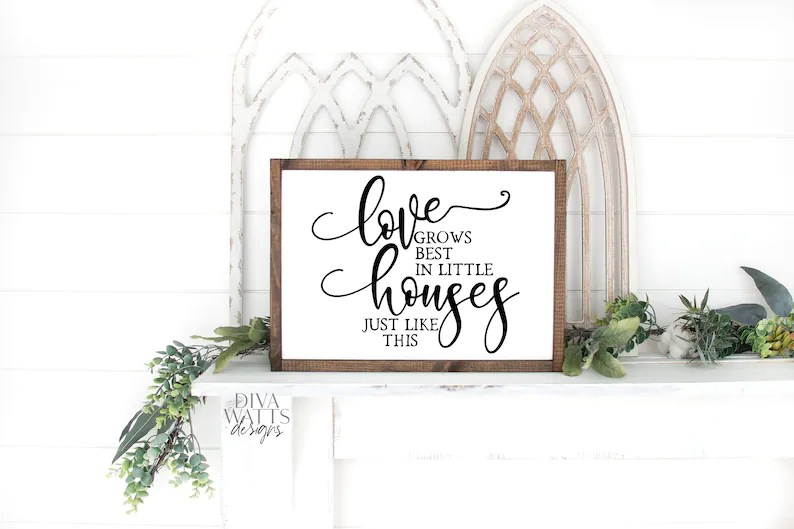 Download SVG Love Grows Best In Little Houses Just Like This ...