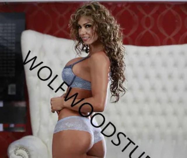 Hot Sexy Thick Latina Woman Big Nice Boobs Ass Lingerie Photo