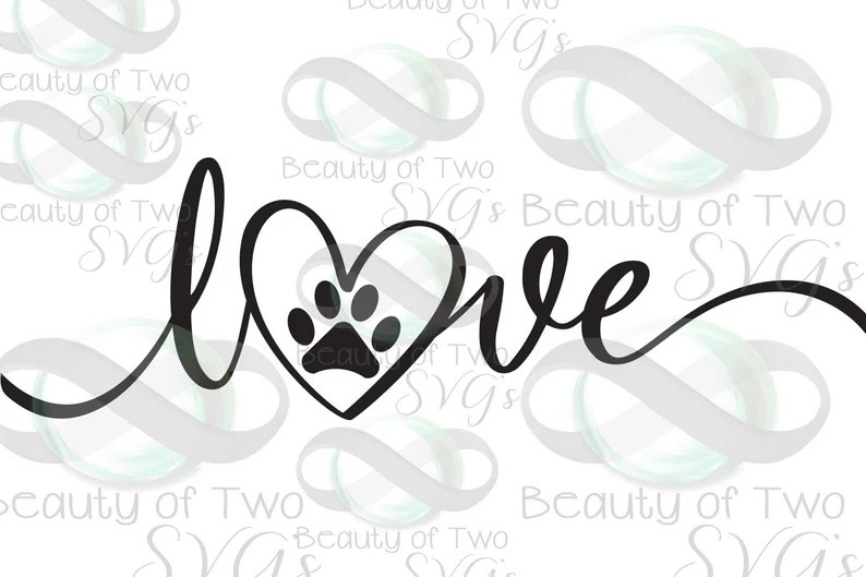 Download Dog Love svg and png I love my dog svg Files for Cutting ...
