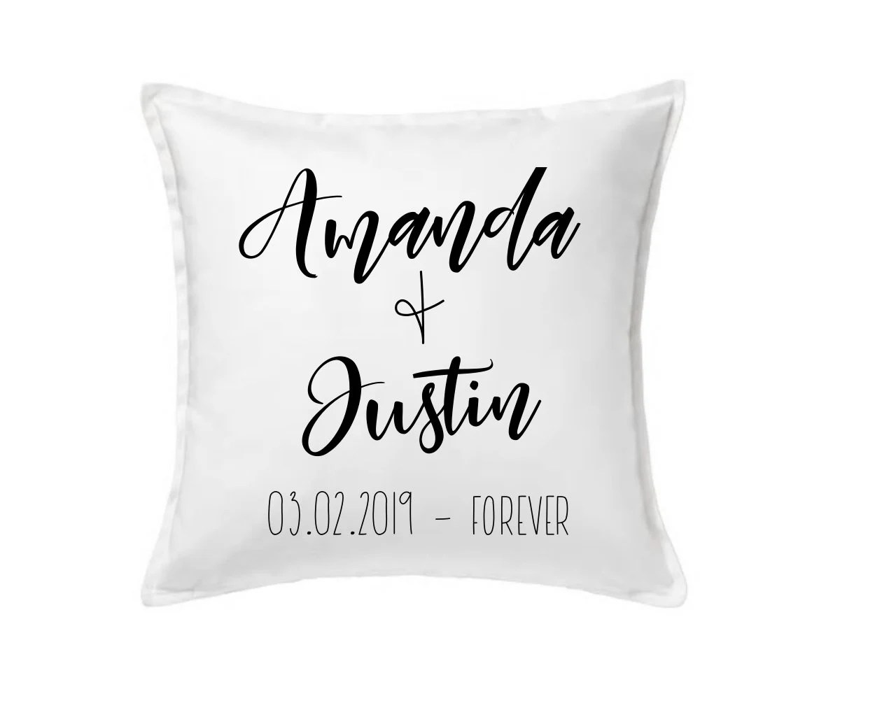 custom family name pillow personalized Pillow Case Christmas image 2