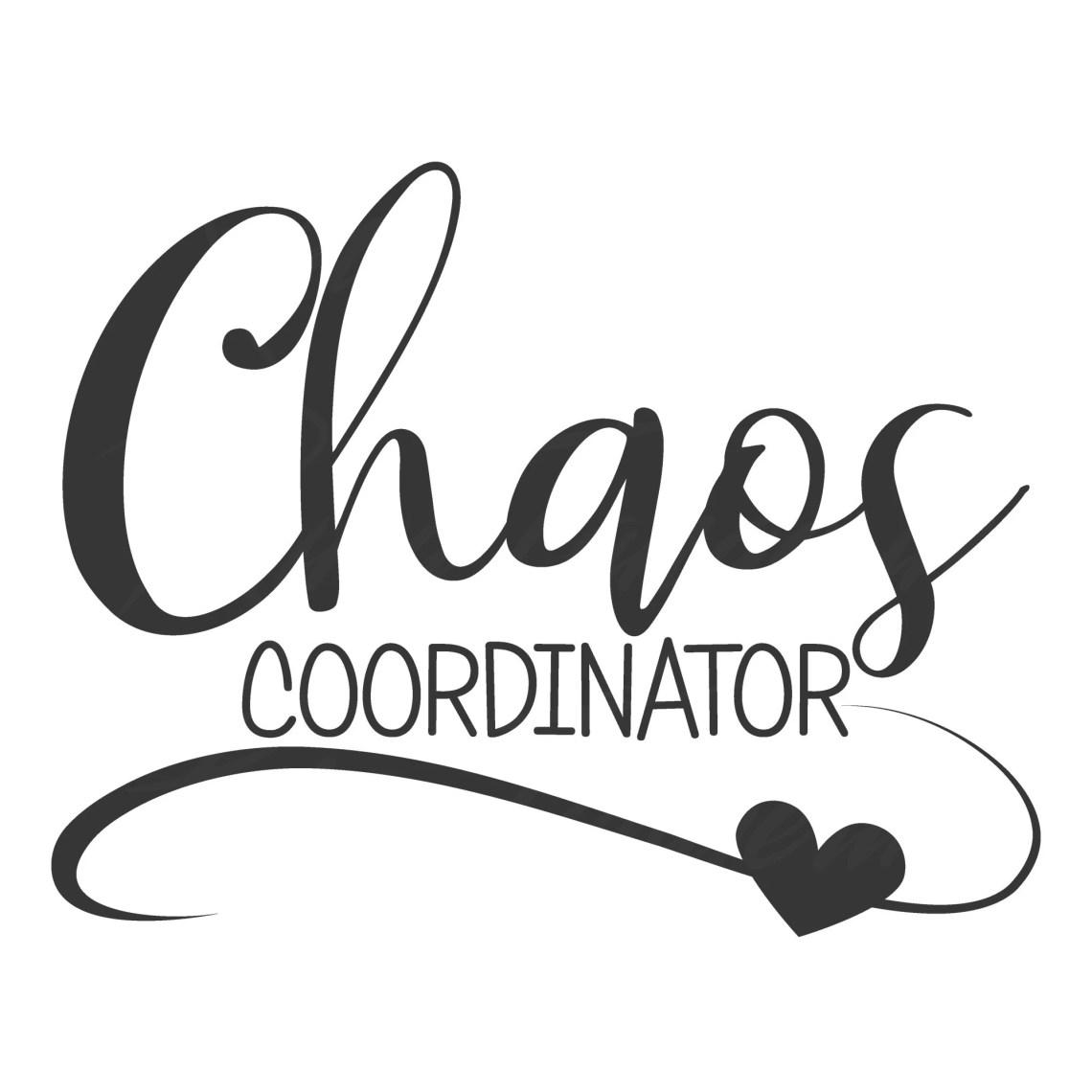 Download Chaos coordinator svg mom svg mom life svg teacher svg png ...
