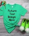 Bella Canvas T Shirt Flaylay Mockup Shirt Style 3001 Cvc Etsy
