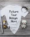 Bella Canvas T Shirt Flaylay Mockup Shirt Style 3001 White Etsy
