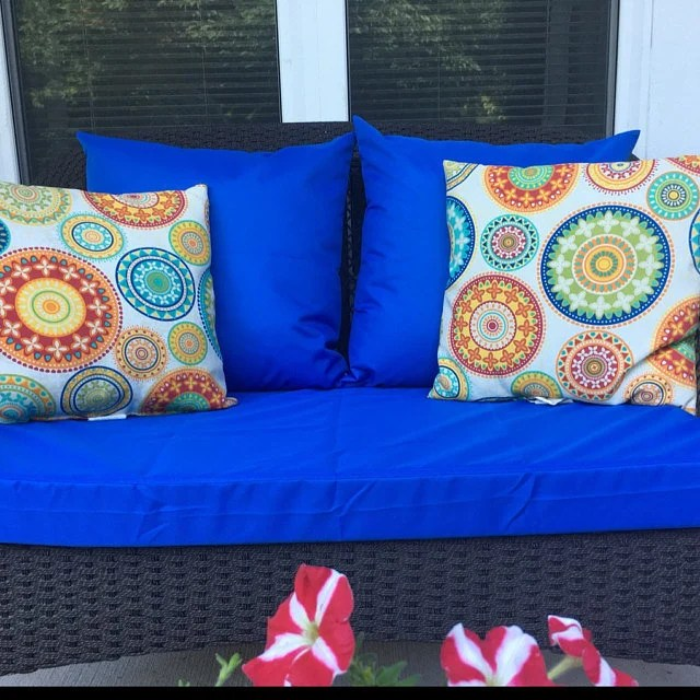 outdoor cushion covers water resistant patio cushion etsy