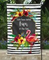 Tropical Sublimation Garden Flag Template 2 Designs One With Etsy