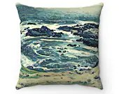Off The Coast Spun Polyester Square Pillow