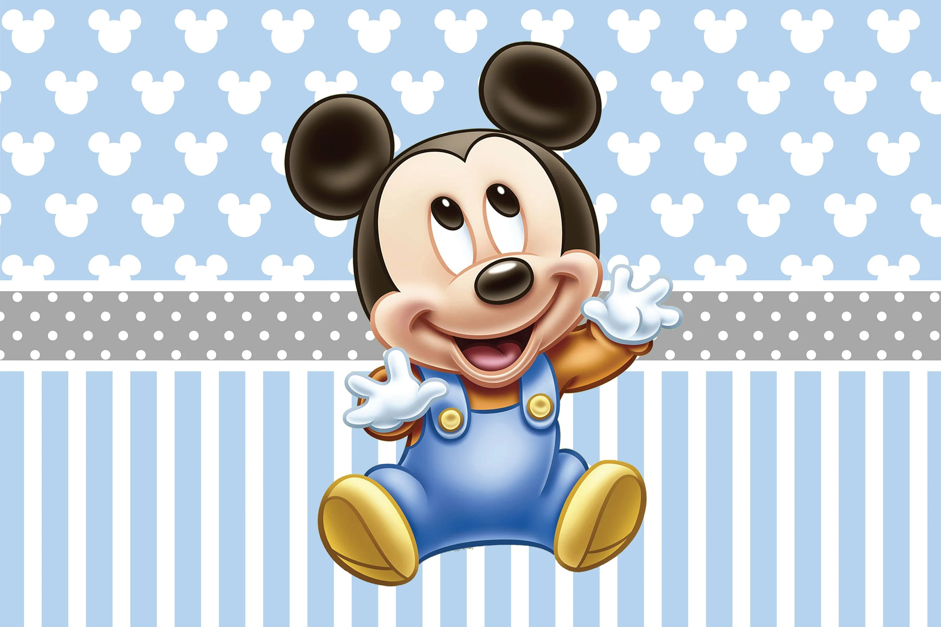 Printable Download File Baby Mickey Mouse Birthday Party Etsy