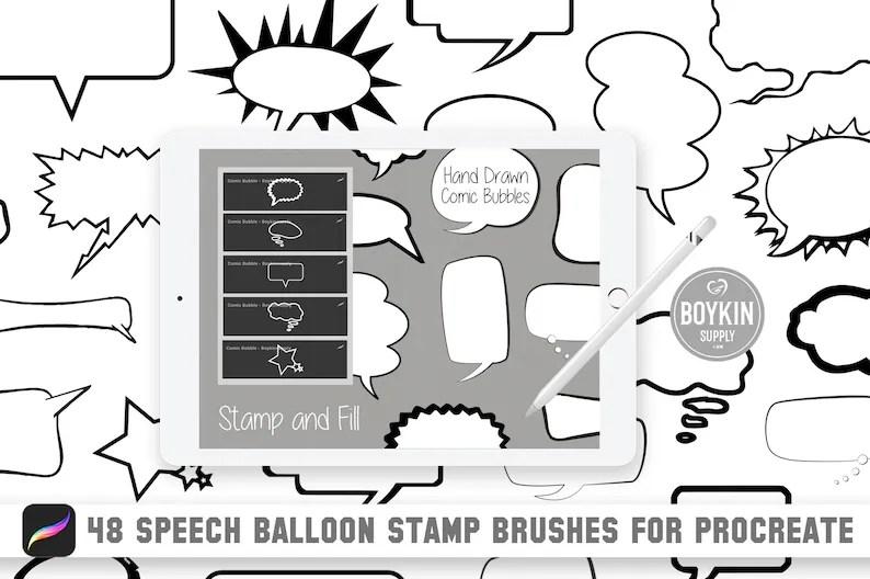 Download Bubble Font Procreate - Easy Bubble Letter