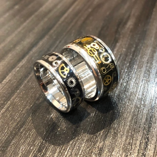 Steampunk Stainless Steel Ring