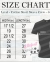 Next Level 3600 Size Chart Nl3600 Size Chart Wood Background Etsy