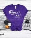 Team Purple Bella Canvas 3001 Halloween Mockup Halloween Etsy