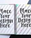Feminine Spiral Notebook Mockup Planner Mockup Wire Bound Etsy