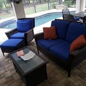 custom patio cushion etsy