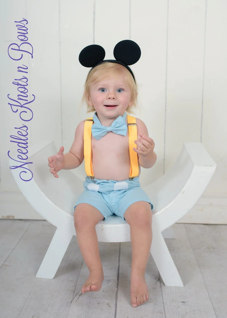 Boys Clothing Clothing Boys Blue Mickey Mouse Cake Smash Outfit Mickey Mouse Light Blue Smash The Cake Set Mickey Mouse Birthday Baby Boys 1st Birthday Outfit