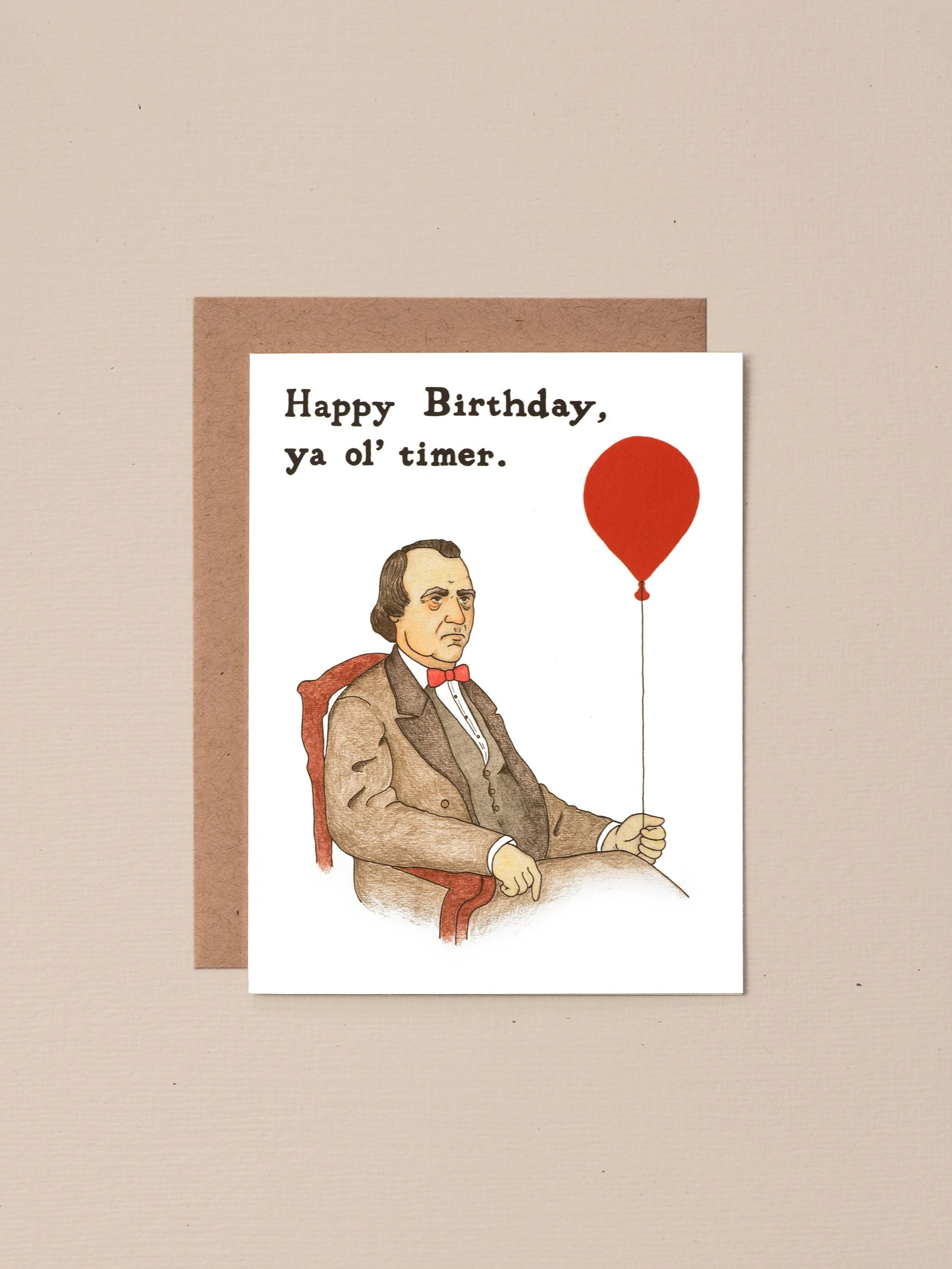 Old Timer Funny Birthday Card For Him 30th Birthday Card For Etsy