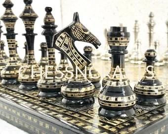 Unique Chess Set Etsy