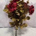 Burgundy Bouquet Wedding For Bride Marsala Floral Arrangement Farmhouse Kitchen Decor Bridesmaid Bouquet Rustic Flower Bouquet