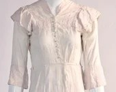 Vintage Early 1900s Light Pink Victorian Dress