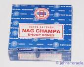 Satya Nag Champa Incense Dhoop Cones x 1 or 4