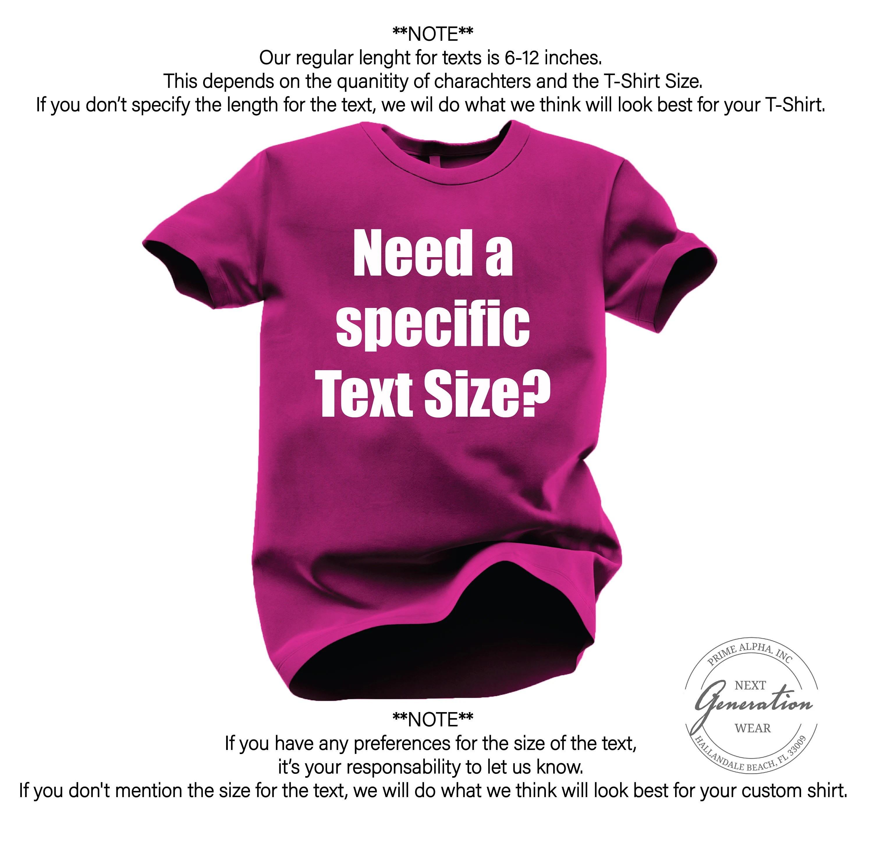 Your text Here Personalized Shirts Customized Shirt Custom image 7