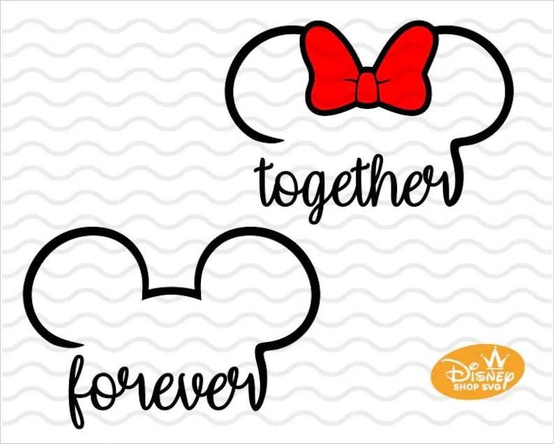 Download Disney Together forever svg / Disney love design Svg   Etsy
