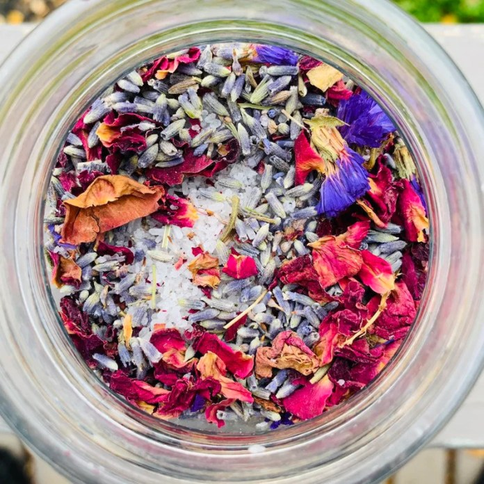Lavender & Rose Bath Tea image 0
