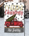 Sublimation Christmas Blank Garden Flag Red Truck Etsy