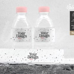 Water Bottle Mockup Water Bottle Label Mockup Party Mockup Etsy