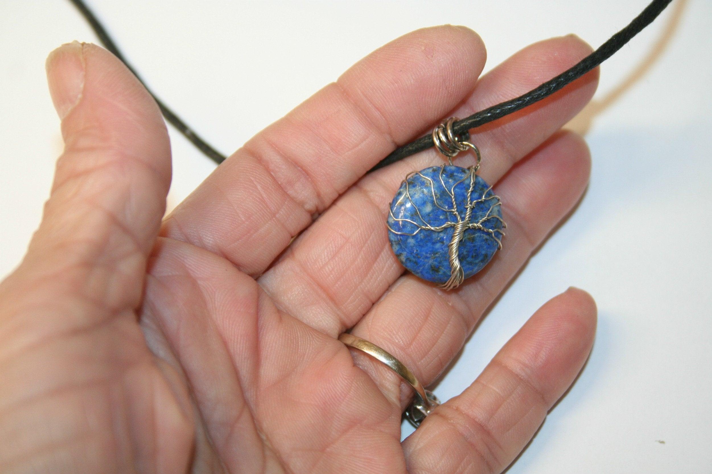 pendant tree of life on lapis lazuli 23 image 4