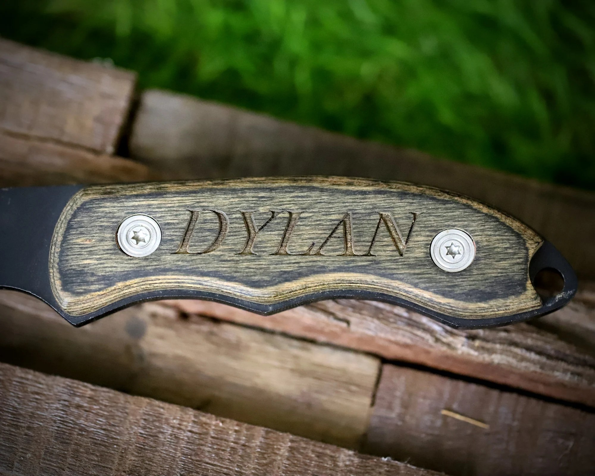 Personalized Hatchet for Groomsmen Personalized Throwing Axe image 2