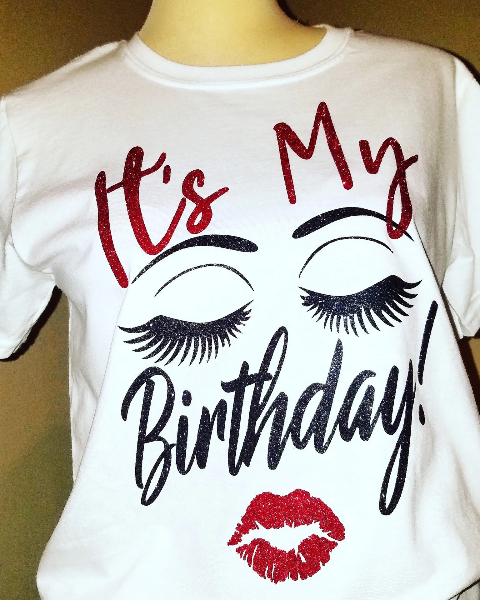 Blingy Its My Birthday Shirt For Women Great For Birthday Etsy