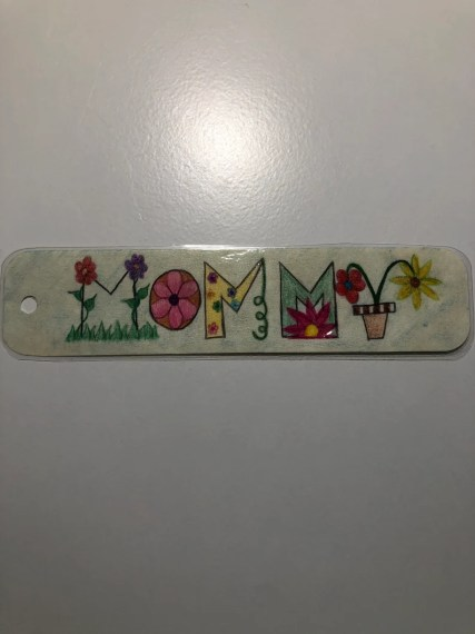Personalized hand drawn name bookmark Birthday presents image 0