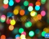 Holiday Bokeh Lights