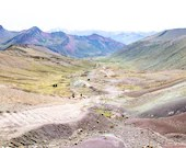 Rainbow Mountain Hike Up, Peru