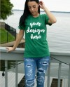 Bella Canvas 3001 Heather Green Shirt Mockup Heather Green Etsy