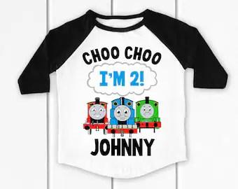 Thomas The Train Shirt Etsy