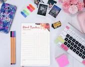 Mood Tracker Sheets