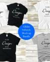 Gildan 5000 Mock Up Bundle T Shirt Shirt Bundle Mockup Black Etsy