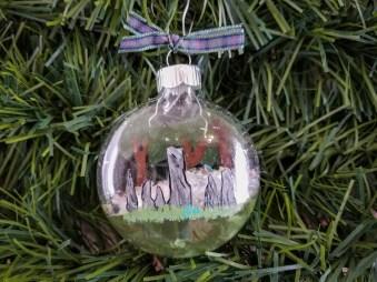 Outlander Inspired Christmas Tree Ornament Craigh na Dun image 0