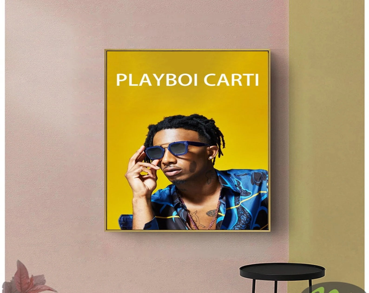 playboi carti poster etsy