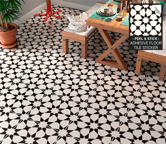 floor tile sticker tile decal tile tiles vinyl flooring etsy