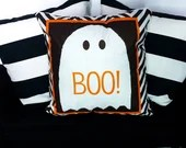Cosy Book Cult Boo Ghost no feet cushion creepy Halloween gothic punk goth spooky