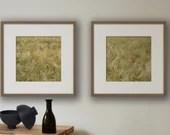 Set von 2 Bildern, Mohnblumen Bild, Kornblume, Fotografie Landschaft, Natur Foto, Druck Natur, Bilder Set, Foto Set, Fine Art Fotografie