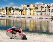 Fotografie Landschaft, Urlaubsbild, Sardinien, Italien, Landschaftsbilder, Foto Meer, Fine Art Druck, Druck Foto, Panorama Bild, farbenfroh
