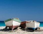 Fine Art Fotografie, Druck Bild, Urlaubsbild, Griechenland, Strand Bild, quadratisches Bild, Landschaftsfotografie, Fernweh, Foto Meer
