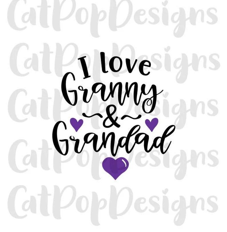 Download I love grandparents svg grandparent svg I love my grandad ...