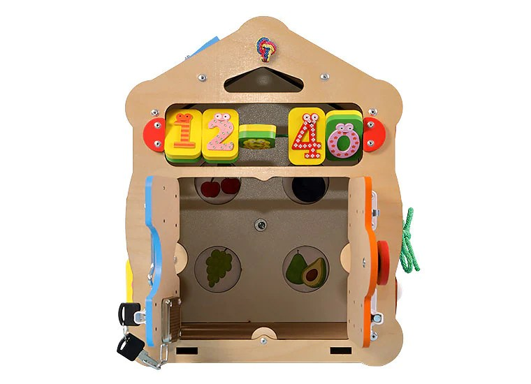 Montessori busy box for toddlersbusy board diy Maison image 1