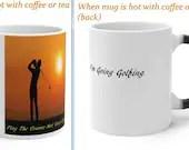 Golf Mug: Amazing Color Changing Mug. Personal Mug.